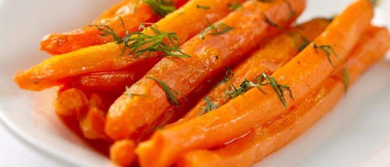вареная морковь чем полезна