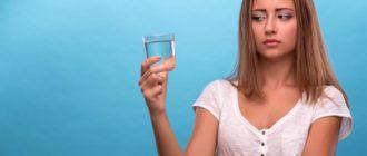 почему не хочется воды