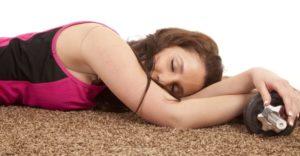 Почему после тренировки хочется спать и слабость