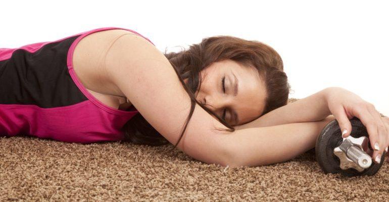 почему хочется спать после тренировки