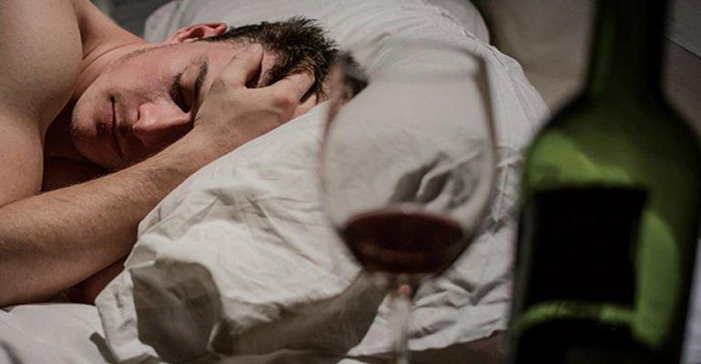 хочется спать с похмелья