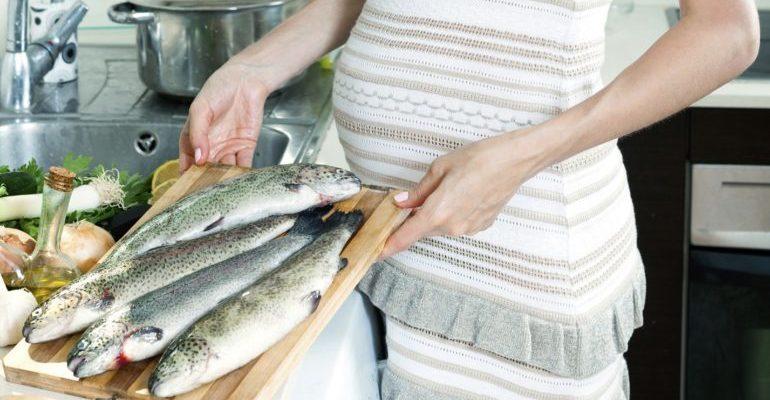 беременной хочется рыбы