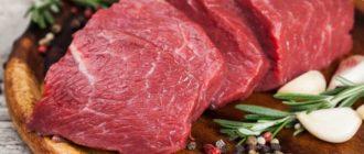 организм требует мясо причины